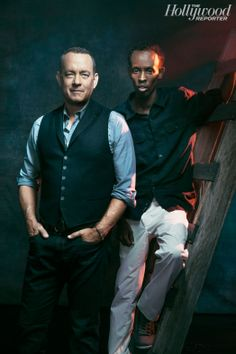 On Board With 'Captain Phillips': Exclusive Portraits of Tom Hanks and Barkhad Abdi
