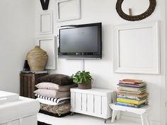 cómo decorar la zona del Televisor