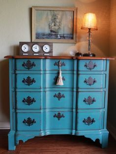 Paint to Order Dresser by Nodtothepast on Etsy