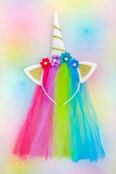 Unicorn Headband- IN STOCK! - Sparkle in Pink