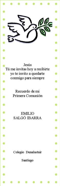 tarjetitas de comunion con palomas - Buscar con Google First Communion Favors, First Holy Communion, Christening Party, Ideas Para Fiestas, Beautiful Day, Diy And Crafts, Google, Religion, Invitations