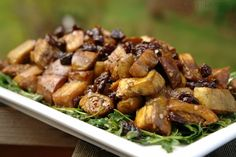 EGGPLANT SALAD. Wanna give this recipe a shot? - http://paleoaholic.com/paleo/eggplant-salad/