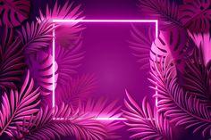 Diseño de fondo de neón | Vector Premium Whats Wallpaper, Framed Wallpaper, Neon Wallpaper, Aesthetic Iphone Wallpaper, New Background Images, Flower Background Wallpaper, Frame Background, Vector Background, Neon Backgrounds