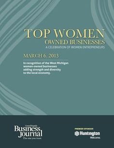 Top Women Owned Businesses - 2013