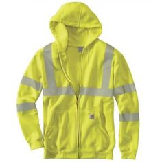 13d0d9e72793 Carhartt High-Visibility Zip-Front Class 3 Sweatshirt at Tractor Supply Co.