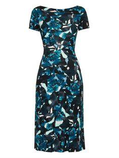 Erdem Vanya printed jersey dress