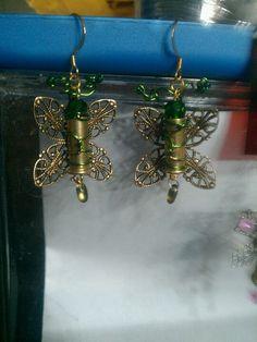 Green Butterfly Bullets