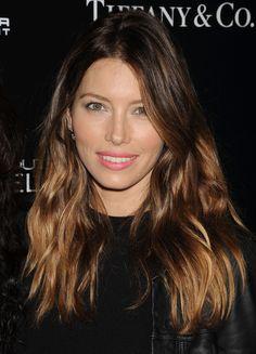 Jessica Biel's Next-Day Hair