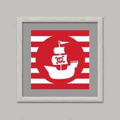 Pirates For Kids VII - Wall Decor Printable Digital Artwork Wall Art Baby Room 7.87 inches Paper - OopsyIdeas by OopsyIdeas on Etsy