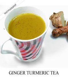 Super Healing Ginger Turmeric Tea Recipe