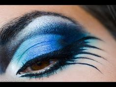 An AWESOME and QUICK 2-minute video. Bird makeup
