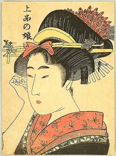 Utamaro Kitagawa 1750-1806 - Beauty