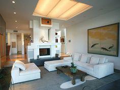 Luxury Long White Living Room Sofa