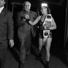 Check out rare and unpublished behind-the-scenes photos from the past year, featuring candid looks at Roman Reigns, Becky Lynch and more of your favorite Superstars. Wwe Raw Women, Rowdy Ronda, Stephanie Mcmahon, Ric Flair, Raw Women's Champion, Wwe News, Wwe Photos, Ronda Rousey, Scene Photo
