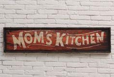 Mom's Kitchen | Kitchen Wall Art
