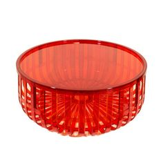 Panier Container With Lid Orange  by Ronan and Erwan Bouroullec