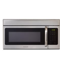 $198 Frigidaire 30 in. 1.6 cu. ft. Over the Range Microwave in Stainless Steel-FFMV164LS at The Home Depot