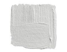 """a perfect gray: horizon gray by Benjamin Moore.'Paint the walls Horizon and the trim white.' Think of a gray suit with a white shirt. It's a nice clean story, and you can go in a hundred different directions with the tie.""""."""