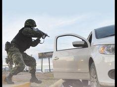 Graban Fuerte Balacera En Vivo Sicarios de Los Zetas vs Federales En Juarez