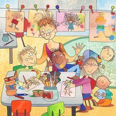 Ann Scott - professional children's illustrator, view portfolio