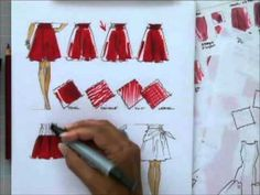 Fashion Sketching, Fashion Drawing and Color Rendering. Learn fashion drawing skills in minutes.