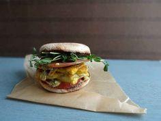 "Breakfast ""Egg"" Sandwich   15 Pieces Of Vegan Sandwich Porn"