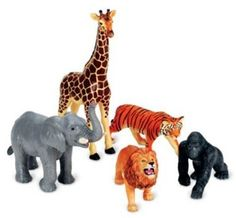Amazon.com: Learning Resources Jumbo Jungle Animals: Toys & Games