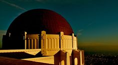 """Griffith Observatory, Los Angeles <--after seeing """"stars"""" on the ground, we'll go see stars in the sky! ♥ #LA #Hollywood #Griffith #LosAngeles #astronomy #travel #AccorBucketList"""