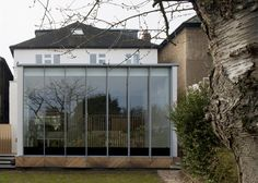 Extra height rear extension