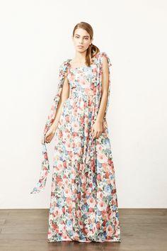 BELROSE Vestido estampado de flores, forro interior y bolsillos laterales.