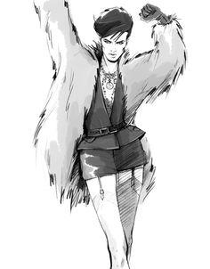 Fashion Illustration by Alena Lavdovskaya