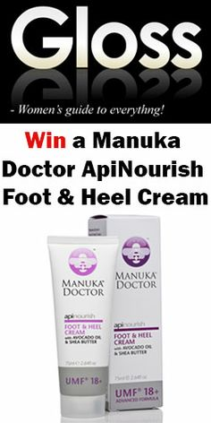 Win a bottle of Foot & Heel Cream! Giveaway, Competition, Health Fitness, Cream, Bottle, Creme Caramel, Flask, Fitness, Jars