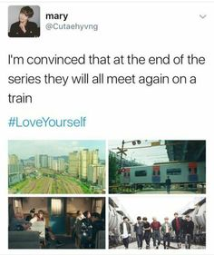 BTS and trains