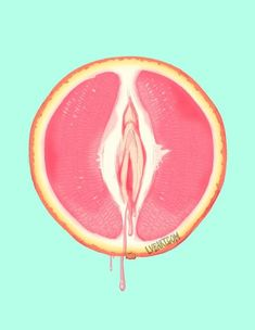 tattoos near vag & tattoos near vag Feminist Art, Erotic Art, Grapefruit, Art Inspo, Illustration, Cool Art, Art Drawings, Fine Art Prints, Artsy