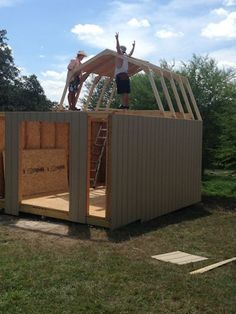 Everything you need to know on how to build a shed