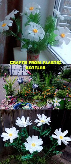 Crafts from plastic bottles 4