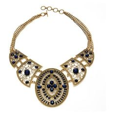 Amrita Singh Napeague Necklace (325 AUD) ❤ liked on Polyvore featuring jewelry, necklaces, accessories, joyas, adjustable necklace, 18 karat gold necklace, 18k necklace, amrita singh and bib jewelry