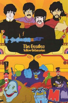 A great poster of all your favorite characters from the Beatles' classic psychedelic cartoon movie Yellow Submarine! Fully licensed. Ships fast. 22x34 inches. Check out the rest of our FABulous select