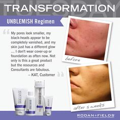 Have blemishes that you try to cover up with makeup?  Why not get rid of the problem and have the bonus of great skin and going makeup free!  www.heidigornik.myrandf.com heidigornik@myrandf.com