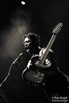 Kele Okereke (Bloc Party.) by sasa huzjak, via Flickr