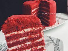 Торт «Красный бархат» Автор рецепта Anna Tsysar - Cookpad
