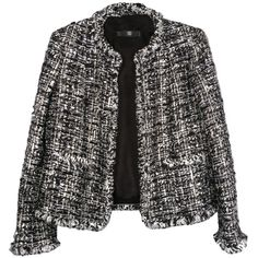 Kholá's Kloset The Iconic Chanel Jacket. ❤ liked on Polyvore featuring jackets, outerwear, chanel, coats and blazer