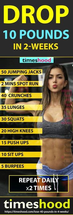 Lose 10 Pounds in 14 Days Workout Plan: Flat belly diet and workout plan to lose weight fast. How to get slim body? Checkout Complete weight loss guide to lose 40 pounds in 4 weeks. Lose 10 Pounds in 7 days challenge. Lose u Losing Weight Tips, Diet Plans To Lose Weight, Weight Loss Plans, Weight Loss Tips, How To Lose Weight Fast, 2 Week Weight Loss Plan, Lose Weight In A Month, Fitness Pal, Fitness Tracker