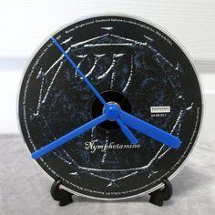 Cradle of Filth CD Clock Black Metal Decor - Nymphetamine by DarkStormDesign on Etsy