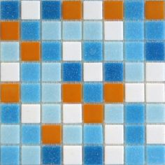 Modwalls mosaic tile Brio Cabo blend is a perfect kitchen backsplash tile, kid's bathroom tile, floor tile, fireplace or pool tile.