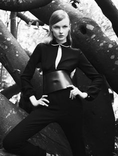 Model: Kamila Filipcikova   Photographer: Stefano Moro - for Amica October 2011