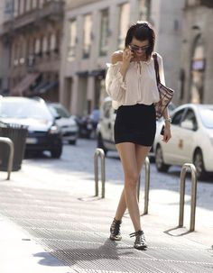 Black And White Street Style _1