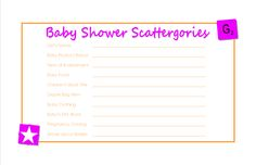 12 Best Scrabble Baby Shower Images On Pinterest Baby Showers