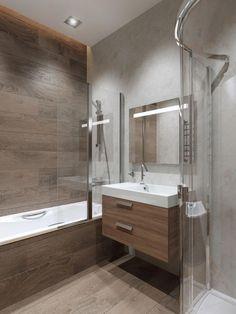 26 Ideas bathroom design wood tile tubs for 2019 Diy Bathroom, Bathroom Interior Design, Bathroom Tub, Trendy Bathroom, Modern Bathroom Design, Bathroom Design Wood, Wood Tile Shower, Bathroom Design Layout, Bathroom Decor