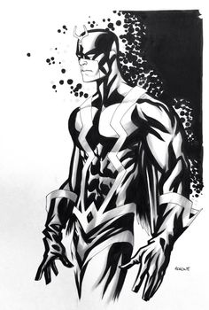 Black Bolt by Mike McKone *